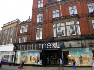 Next (ex-Woolworths) in Darlington (23 May 2012). Photograph by Graham Soult