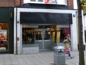 Game in High Street West, Sunderland, ahead of reopening (18 Oct 2013). Photograph by Graham Soult