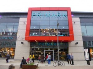 New Primark store at The Bridges, shortly after opening (15 Nov 2012). Photograph by Graham Soult