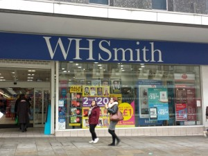 WHSmith, Newcastle (22 Oct 2013). Photograph by Graham Soult