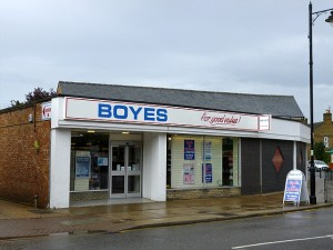 Boyes (ex-Westgate Department Store), March (2 Aug 2012). Photograph by Graham Soult