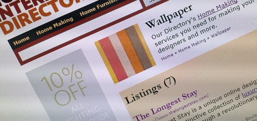 The Longest Stay listing at the Home Interiors Directory (12 Nov 2013). Photograph by Graham Soult