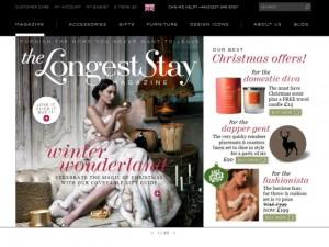Homepage of The Longest Stay website