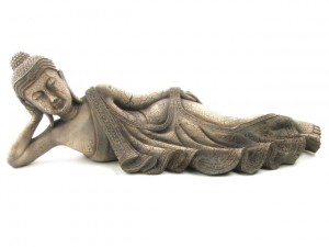 Reclining Buddha statue from The Home Decor Company