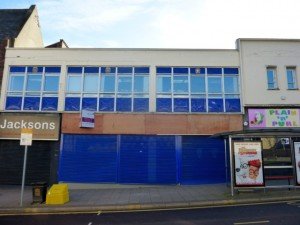 Former Boots unit, Jackson Street, Gateshead (2 Feb 2014). Photograph by Graham Soult