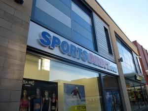 Sports Direct, Trinity Square, Gateshead (2 Feb 2014). Photograph by Graham Soult
