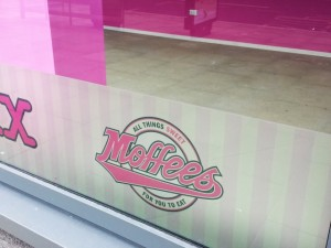 Closed Moffees at Trinity Square, Gateshead (2 Mar 2014). Photograph by Graham Soult