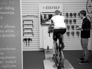 Guru Bike Fit at Leisure Lakes Bikes Daventry store