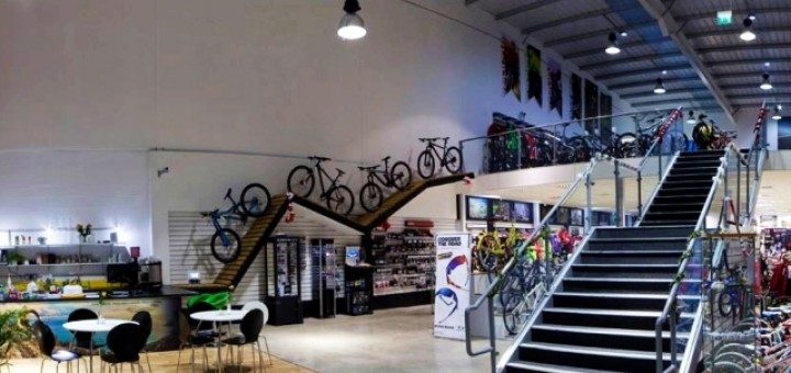 Interior of Leisure Lakes Bikes Daventry flagship