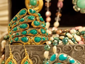 Some of Tesoros' jewellery