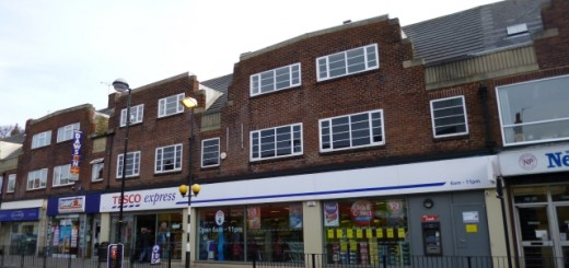 Tesco Express, Whitley Bay (11 Apr 2013). Photograph by Graham Soult