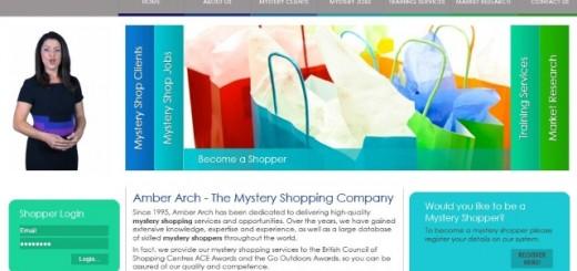 Amber Arch website