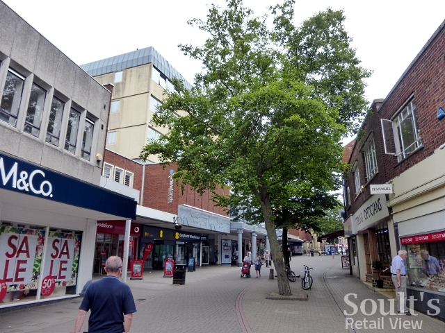 Gold Street and Newlands Centre, Kettering (25 Jun 2015). Photograph by Graham Soult