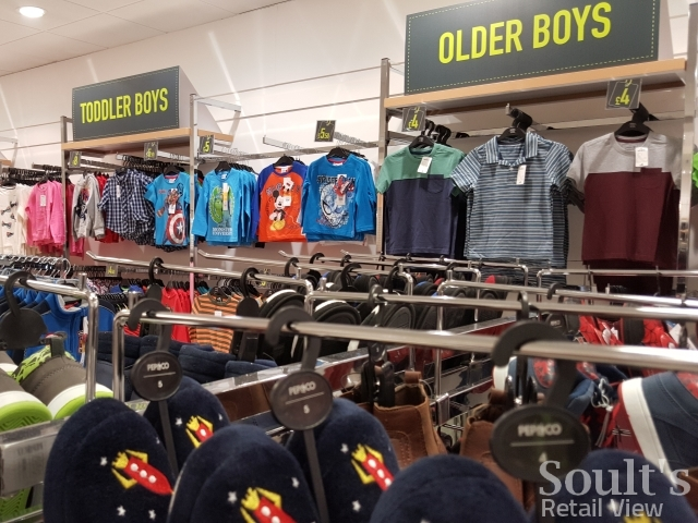 Childrenswear in Pep&Co, Kettering (25 Jun 2015). Photograph by Graham Soult