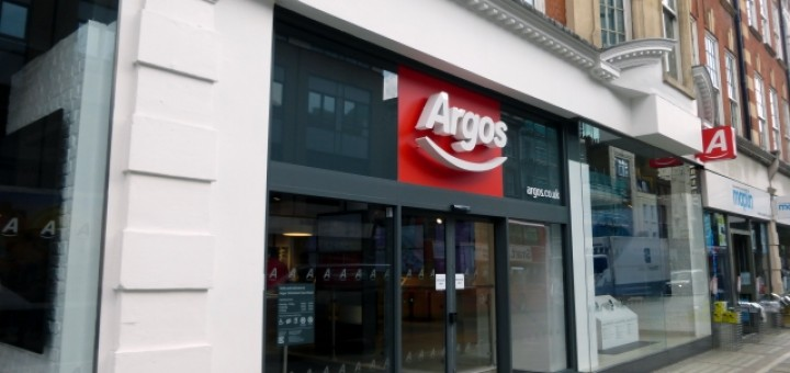 Digital Argos store in Tottenham Court Road, London (12 Sep 2014). Photograph by Graham Soult