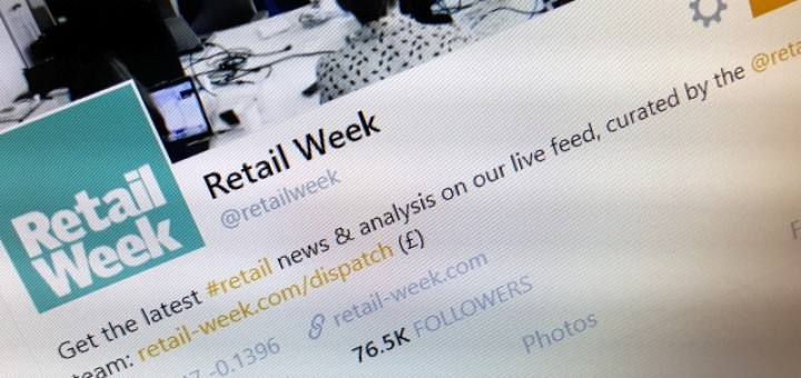 Not surprisingly, Retail Week ranks highly for influence... but how high? Photograph by Graham Soult