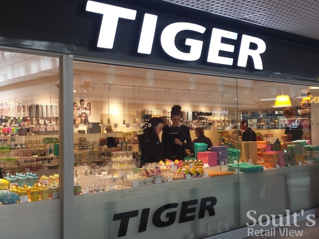 Tiger store in Edinburgh (19 Apr 2014). Photograph by Graham Soult