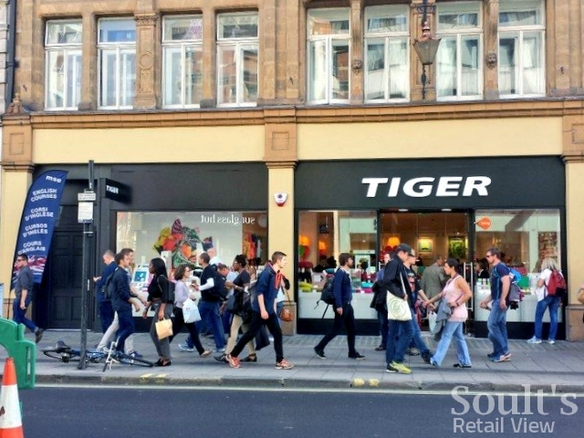 Tiger store in Oxford Street, London (12 Sep 2014). Photograph by Graham Soult
