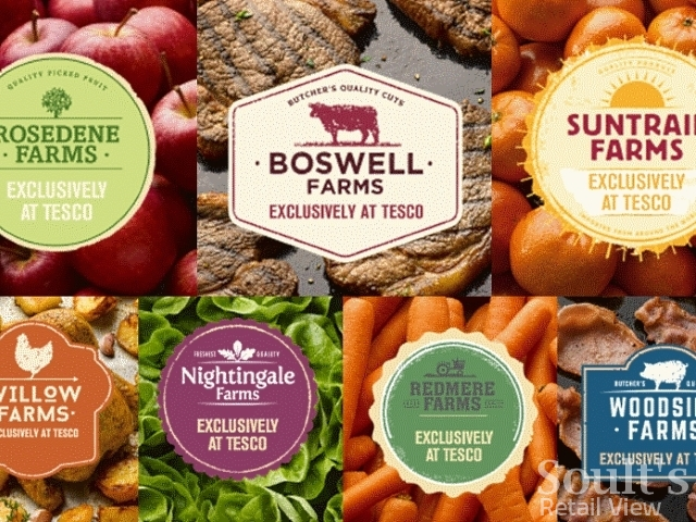 Tesco's new fresh brands, instore from today