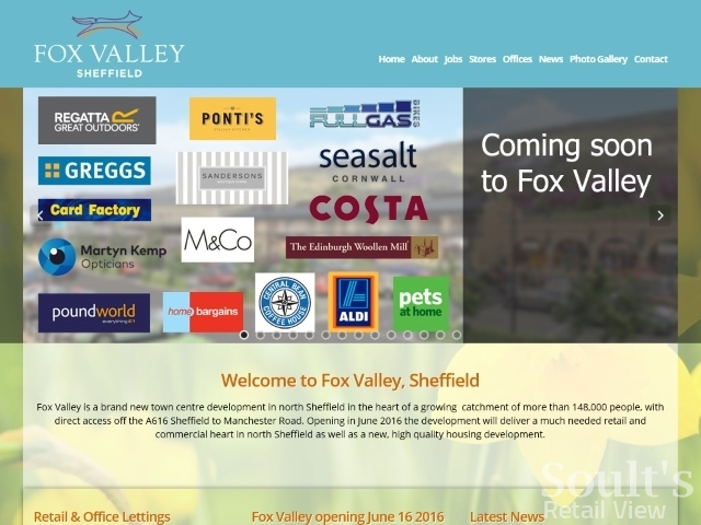 Some of the retail and leisure brands opening at Fox Valley