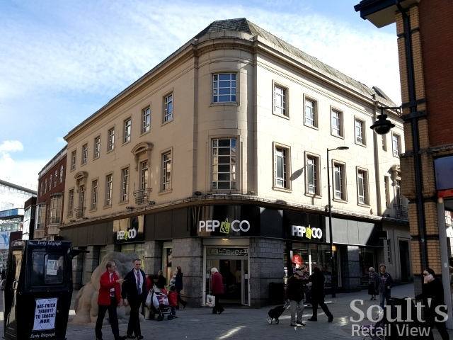 Pep&Co store in Derby (8 Oct 2015). Photograph by Graham Soult