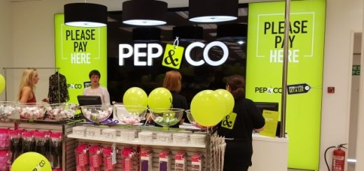 Opening day at Pep&Co store in Hartlepool (12 Aug 2015). Photograph by Graham Soult