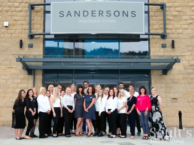 The team at Sandersons Boutique Store at Fox Valley, Sheffield