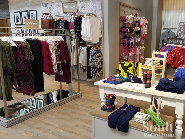 Joules and White Stuff at Sandersons department store (1 Sep 2016). Photograph by Graham Soult