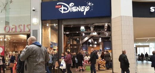 Pop-up Disney Store at Intu Eldon Square (22 Oct 2016). Photograph by Graham Soult