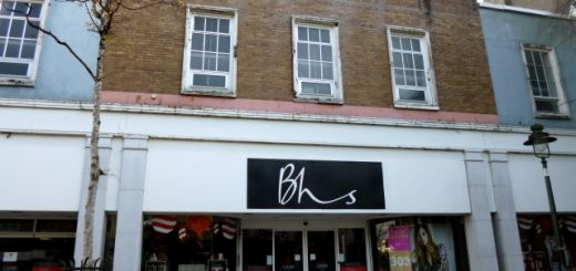 BHS in Carmarthen (11 Nov 2012). Photograph by Graham Soult