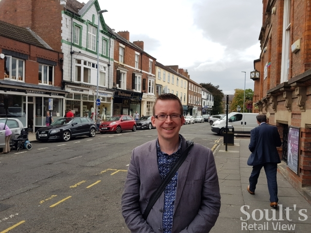 Me in Grange Road, Darlington (25 Aug 2017)