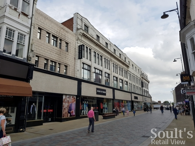 House of Fraser in Darlington (25 Aug 2017). Photograph by Graham Soult