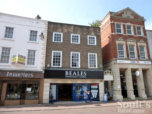 Beales in Spalding - an ex-Westgate that survived Beales' 2016 cull (25 Jul 2014). Photograph by Graham Soult