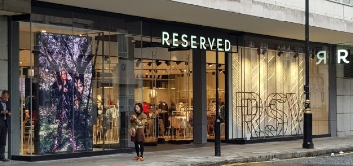 Reserved's frontage to John Prince's Street (8 Sep 2017). Photograph by Graham Soult